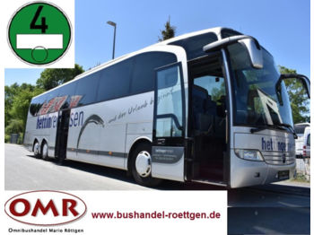 Туристический автобус Mercedes-Benz O 580 - 17 RHD Travego/417/1218/analoger Tacho