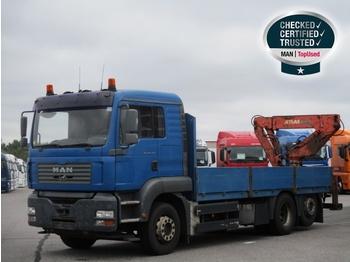 Бортовой грузовик MAN TGS 26 360 из Великобритании, купить