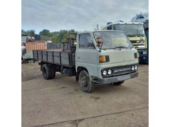 MITSUBISHI Canter left hand drive FE110 2.7 diesel 6 tyres - бортовой грузовик