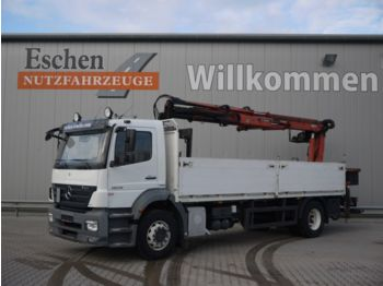 Бортовой грузовик Mercedes-Benz 1829 Axor 4x2, Atlas TLC 145.2 Kran: фото 1