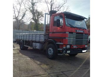 SCANIA 92M 250 left hand drive Turbo Intercooler 17.5 ton - бортовой грузовик