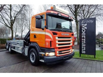 Бортовой грузовик Scania R340 Cr 16 6x2 Kran - Containersystem: фото 1