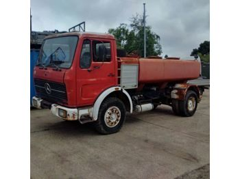 MERCEDES-BENZ 1613 left hand drive 6 cylinder 7000 litres WATER - грузовик-цистерна