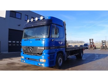 Грузовик-платформа Mercedes-Benz Actros 1843 (FRONT STEEL SUSPENSION)