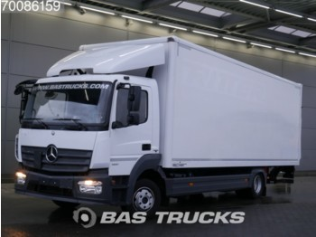 Грузовик с закрытым кузовом Mercedes-Benz Atego 1221 4X2 Ladebordwand Euro 6 German-Truck