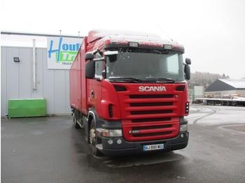 Грузовик с закрытым кузовом Scania R 420 - 6X2 - manual gearbox
