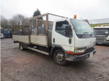 MITSUBISHI CANTER 4X2 7.5TON c/w CAGED TIPPING BODY & FLATBED BODY #111 - грузовик-шасси