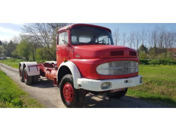 Mercedes Benz 2624 6x6 long nose- chassis - perfect - грузовик-шасси