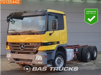 Mercedes-Benz Actros 2655 K 6X4 Retarder 3-padels Big-Axle Steelsuspension Euro 5 - грузовик-шасси