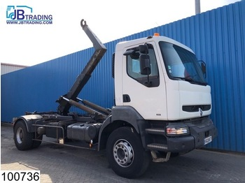 Крюковой мультилифт Renault Kerax 340 Steel suspension, Guima Hook, Telma - Retarder, Manual, Airco