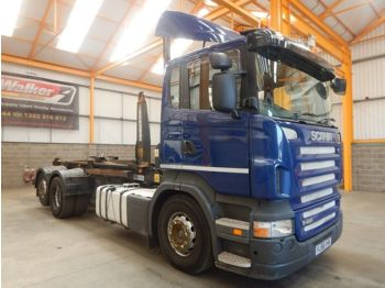 Крюковой мультилифт Scania R410 EURO 6 8x2 KRAAN +