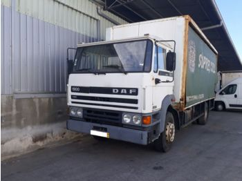 DAF 1900 left hand drive Turbo Intercooler 17.5 ton on springs - тентованный грузовик