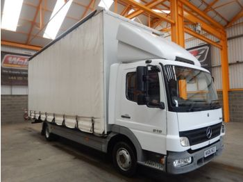 MERCEDES-BENZ ATEGO 818, 7.5 TONNE CURTAINSIDER - 2006 - MX06 NCE - тентованный грузовик