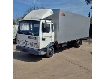 RENAULT Midliner left hand drive S100 Turbo Perkins engine - тентованный грузовик