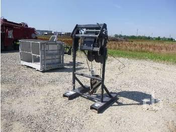 MANITOU 5000 Kg Telescopic Forklift - лебёдка