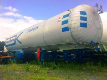 Полуприцеп-цистерна AUREPA LNG, Methane, Gas Tank, 45000 Liter, Natural gas, Air Liquide