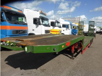 Broshuis Lowloader Loading Ramps, extendable, Lang/ long:  - Низкорамный полуприцеп
