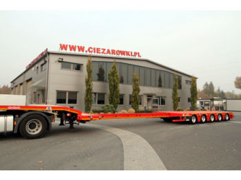 NOOTEBOOM 5 AXLE SEMI TRAILER LOW LOADER OSD-68-05V HYDR. SUSP. - низкорамный полуприцеп