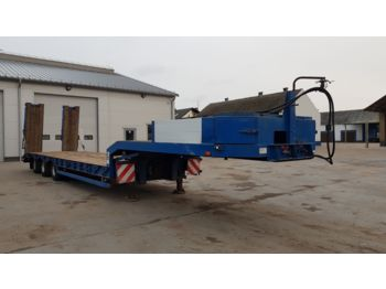 Other NICOLAS Low Loader Hydraulic Ramps 2001 year  - низкорамный полуприцеп