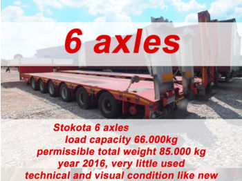 STOKOTA 6 AXLE SEMI TRAILER LOW LOADER S6U.H4.N1-01 - низкорамный полуприцеп