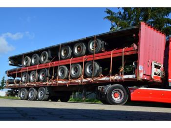 Платформа полуприцеп KRONE 5 x semi-trailers - flat beds - PACKAGE