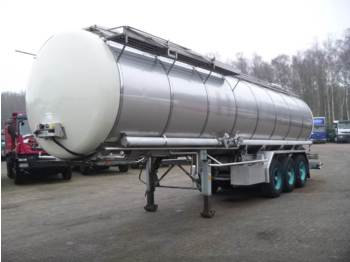 Burg Chemical tank inox 31.2 m3 / 1 comp. - полуприцеп-цистерна