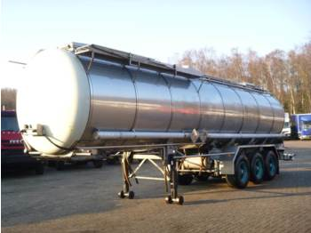 Burg Chemical tank inox 31.2 m3 / 1 comp - полуприцеп-цистерна