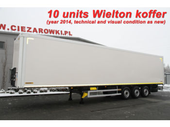 WIELTON NS34 KOFFER CONTAINER 10 UNITS! - полуприцеп-фургон