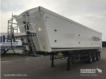 Schmitz Cargobull Tipper Alu-square sided body 54m³ - самосвальный полуприцеп