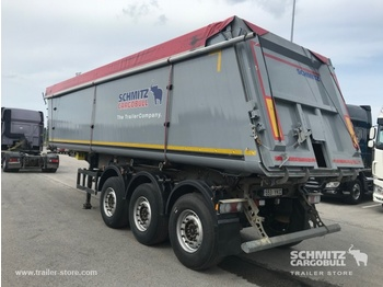 Schmitz Cargobull Tipper alu-square sided body 39m³ - самосвальный полуприцеп