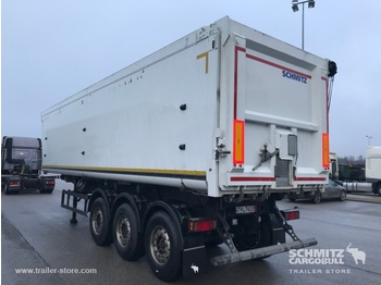 Schmitz Cargobull Tipper alu-square sided body 52m³ - самосвальный полуприцеп