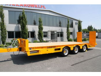 BARFORD 3 AXLE TRAILER L27 NEW! NOT USED! - низкорамный прицеп
