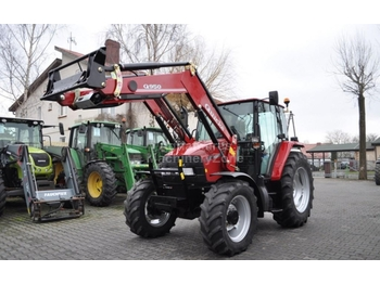 Case IH CX 80 + QUICKE Q950 - колёсный трактор