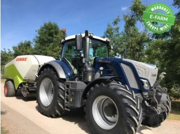 Fendt 828 PROFI PLUS DESIGN LINE BLUE - колёсный трактор