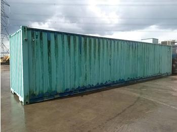 40' x 8' Shipping Container, Kaeser N753 Compressor, Air Tank, Oil Water Seperator - морской контейнер