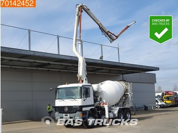 Mercedes-Benz Actros 3240 8X4 Manual Big-Axle Euro 2 Pumpe+Mixer - автобетононасос