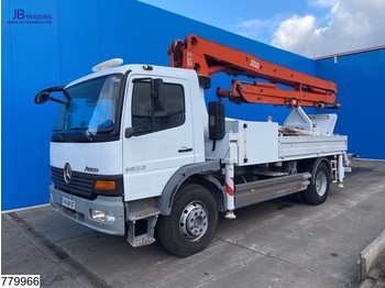 Mercedes-Benz Atego 1623 22 mtr, Steel suspension, Remote - автобетононасос