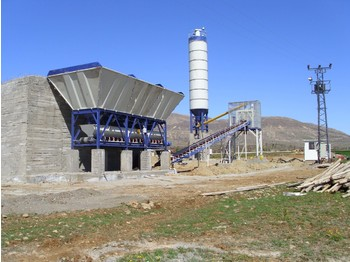 FABO DRY TYPE CONCRETE BATCHING PLANT - бетонный завод