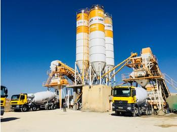 FABO POWERMIX-160 STATIONARY TYPE CONCRETE PLANT WITH 160 M3/H CAPACITY - бетонный завод