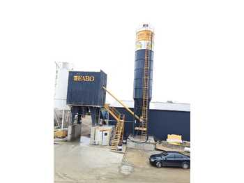 FABO POWERMIX-90 FIXED CONCRETE MIXING PLANT - бетонный завод