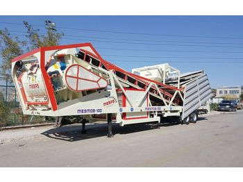 Бетонный завод MESAS 100 m3/h MOBILE CONCRETE BATCHING PLANT