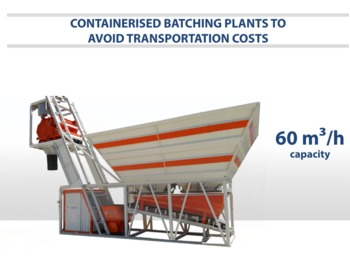 Бетонный завод SEMIX Compact Concrete Batching Plant Containerised