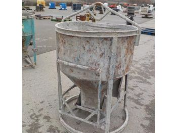 500L Concrete Skip to suit Crane - 1186-44 - бетономешалка