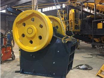 FABO CLK-60 SERIES 60-120 TPH PRIMARY JAW CRUSHER - дробилка