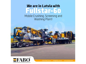 FABO FULLSTAR-60 Crushing, Washing & Screening  Plant - дробилка