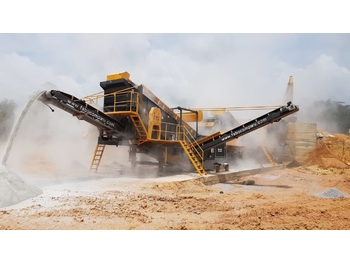 FABO MDMK-01 | 130-200 TPH MOBILE CRUSHING & SCREENING PLANT - дробилка