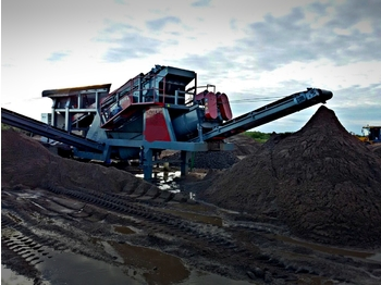 FABO MEY-1645 MOBILE SAND SCREENING & WASHING PLANT - дробилка