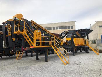 FABO MTK-65 MOBILE CRUSHING & SCREENING PLANT – SAND MACHINE - дробилка