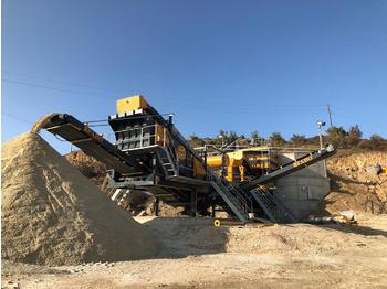 FABO MVSI 900 MOBILE VERTICAL SHAFT IMPACT CRUSHING SCREENING PLANT - дробилка
