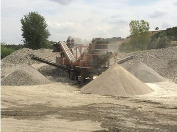FABO PRO-70 MOBILE CRUSHING & SCREENING PLANT FOR LIMESTONE - дробилка